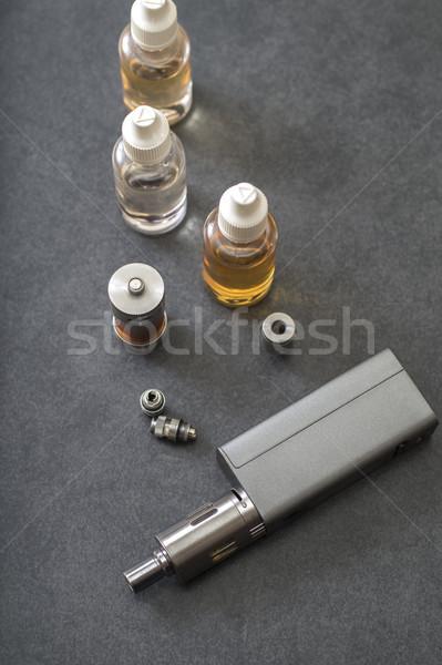различный бутылок бутылку сигарету жидкость выбора Сток-фото © nessokv