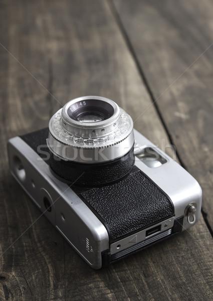 Retro camera  Stock photo © nessokv