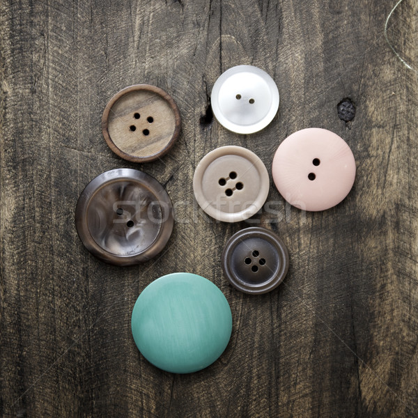 Collection of various buttons Stock photo © nessokv