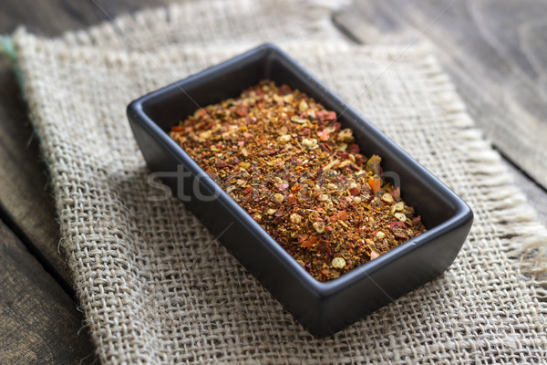 ground cayenne pepper Stock photo © nessokv