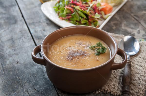 Vegetable soup Stock photo © nessokv