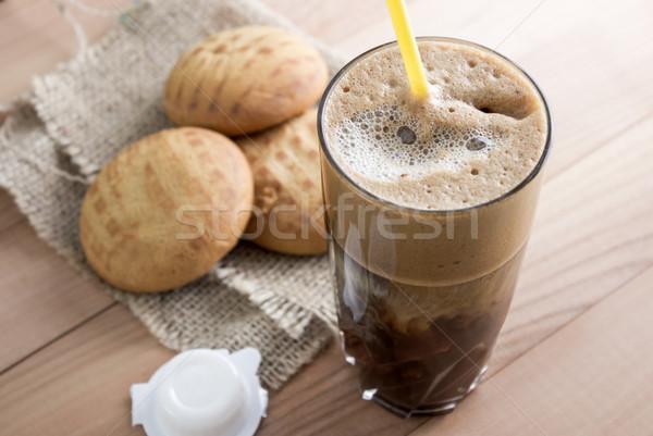 honey cakes and coffee Stock photo © nessokv