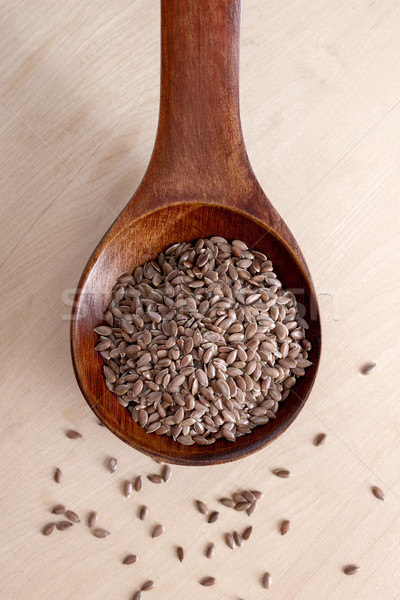 flax seed Stock photo © nessokv