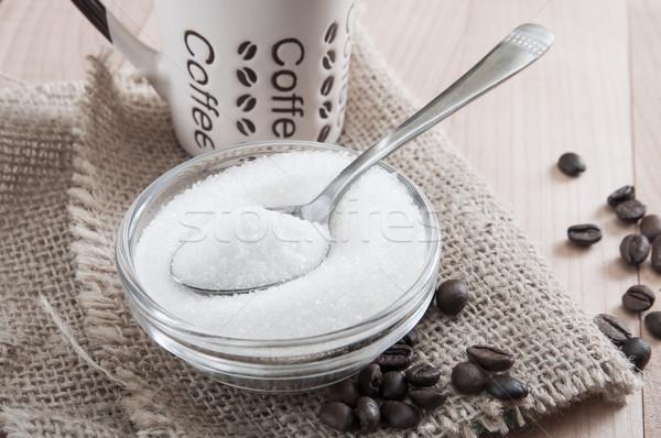 кофе сахар кофейный столик фото Сток-фото © nessokv