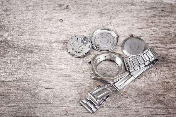 disassembled watch Stock photo © nessokv