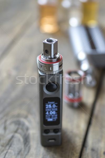 передовой личные сигарету жидкость концепция Сток-фото © nessokv