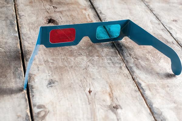 3d glasses Stock photo © nessokv