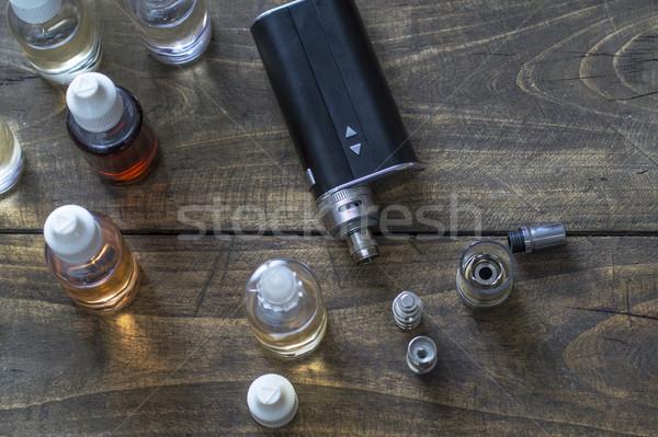 различный бутылок бутылку сигарету концепция выбора Сток-фото © nessokv