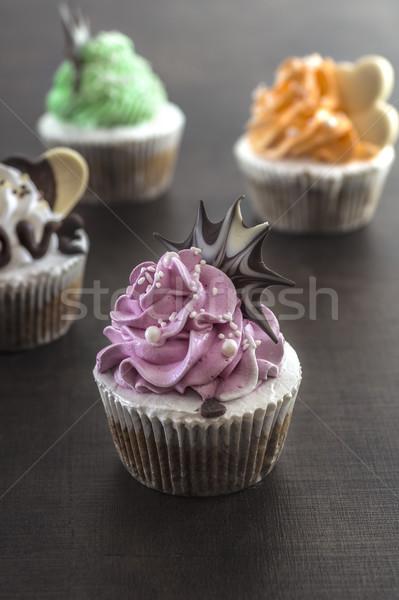 Валентин любви торт белый Сток-фото © nessokv