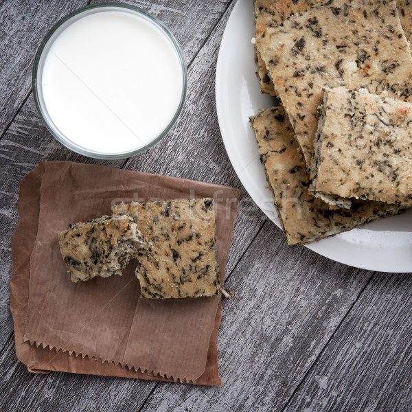 Sorrel pie with cheese Stock photo © nessokv