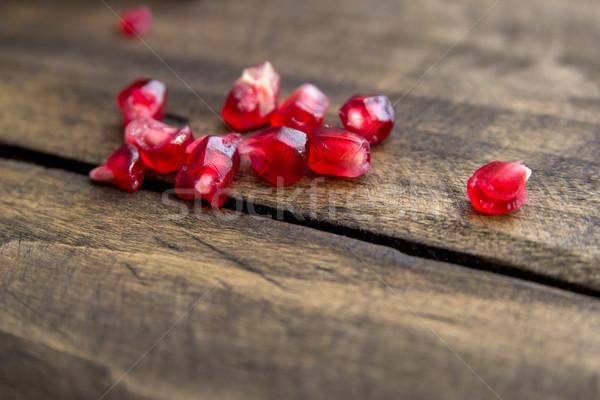 гранат фрукты природы цвета Сток-фото © nessokv
