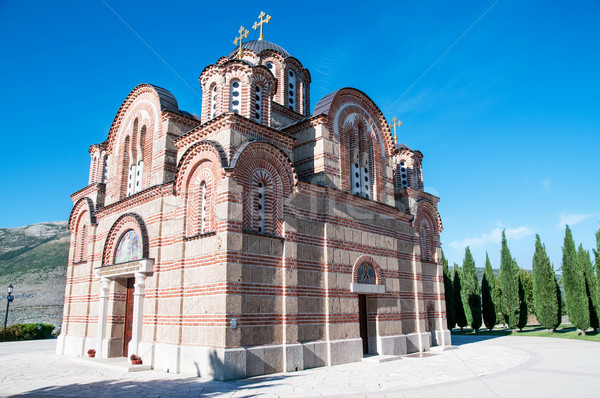 Photo stock: Orthodoxe · église · monastère · bâtiments · culte · architecture