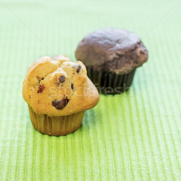 chocolate chip muffins Stock photo © nessokv