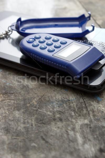 Kennwort Geld Internet Technologie Bank Dokumente Stock foto © nessokv
