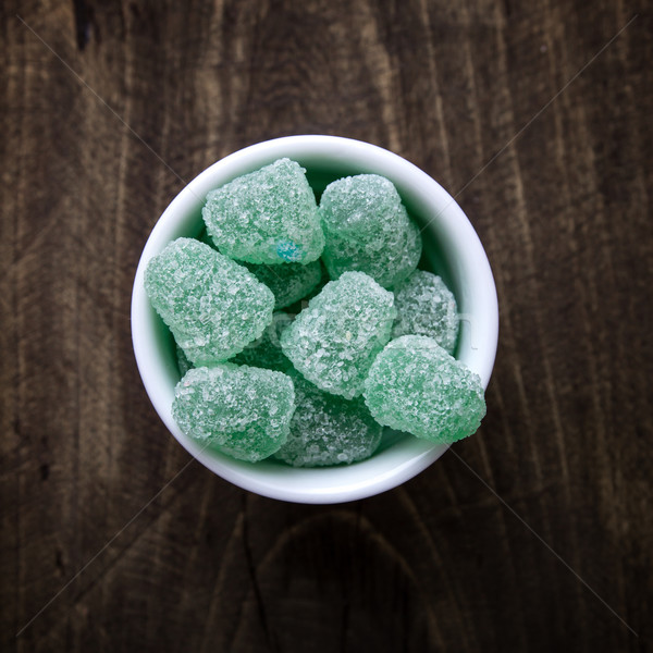 Close up shot of fruity chewy candy Stock photo © nessokv
