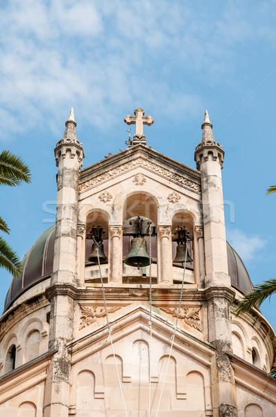 Сток-фото: башни · старые · православный · Церкви · небе · горные