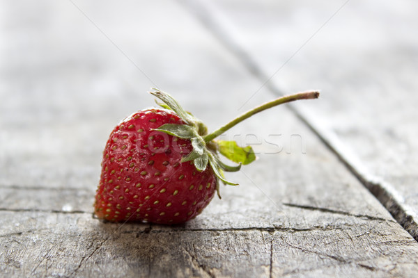 fresh, just-picked, strawberries Stock photo © nessokv