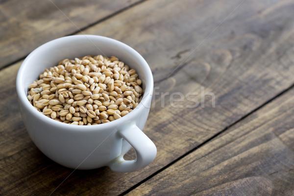 whole grain wheat Stock photo © nessokv