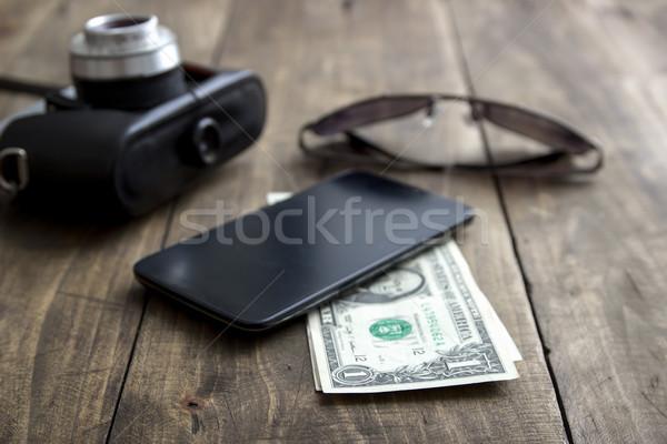 Modern Men's Accessories Stock photo © nessokv