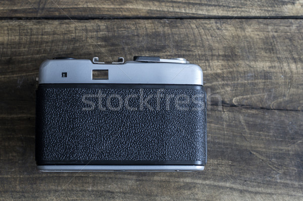 Back side of retro camera  Stock photo © nessokv