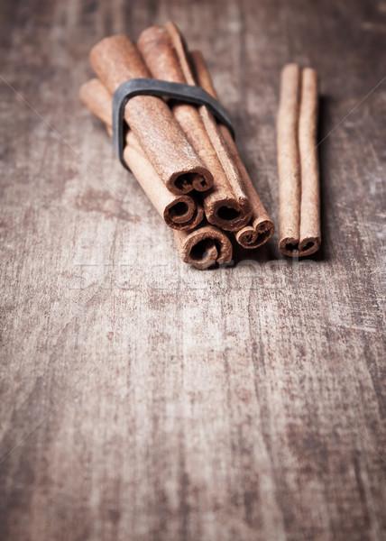 Aromático canela velho Foto stock © nessokv