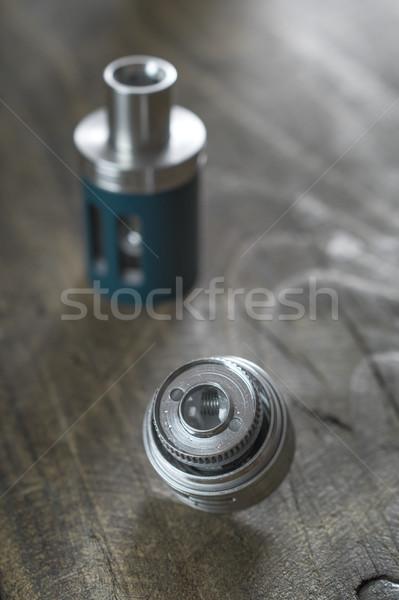 électronique cigarette remplacement tête Photo stock © nessokv