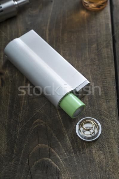 Avancé personnelles médicaux boîte noir liquide Photo stock © nessokv