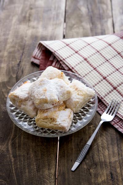 Puff pastry rolls Stock photo © nessokv
