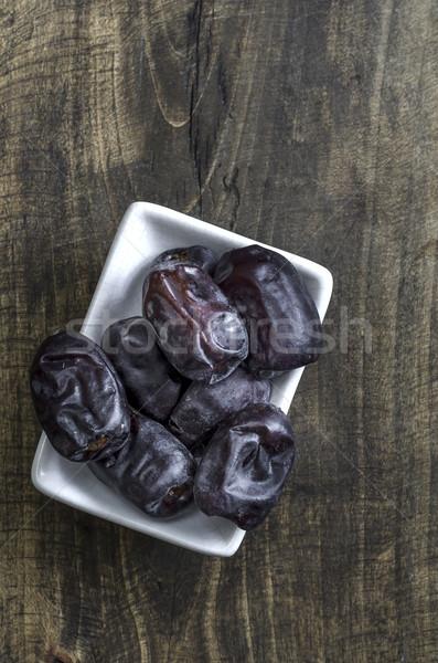 сушат даты свежие еды Сток-фото © nessokv