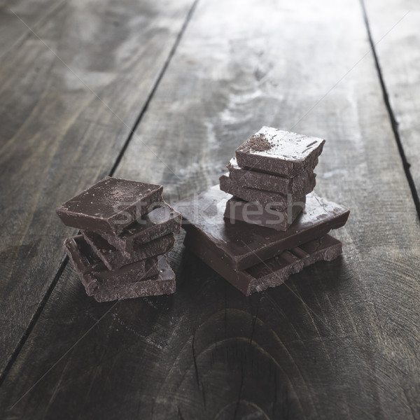 шоколадом органический здорового коричневый Сток-фото © nessokv
