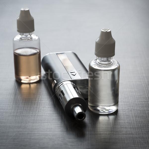 Zaawansowany osobowych tle czarny palenia Zdjęcia stock © nessokv
