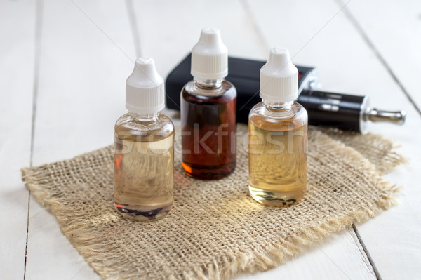Flavor for electronic cigarettes Stock photo © nessokv