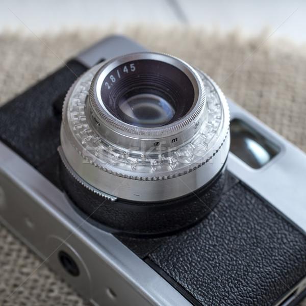 Close up of old camera Stock photo © nessokv