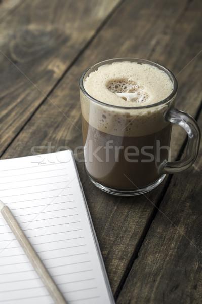 instant coffee Stock photo © nessokv