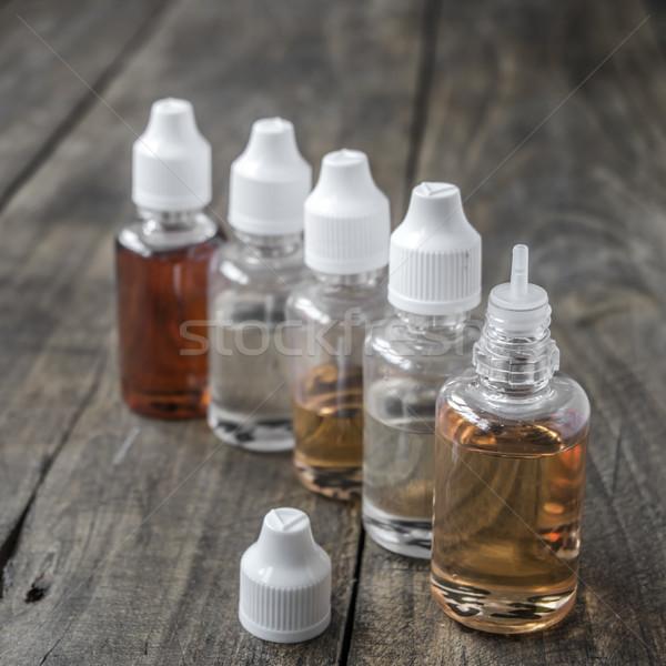 различный бутылок бутылку сигарету концепция Сток-фото © nessokv