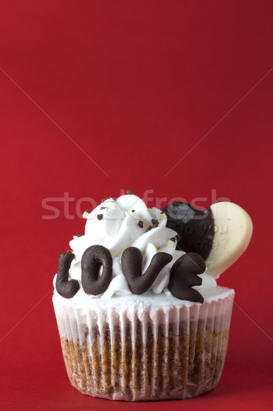 Valentine cupcake Stock photo © nessokv