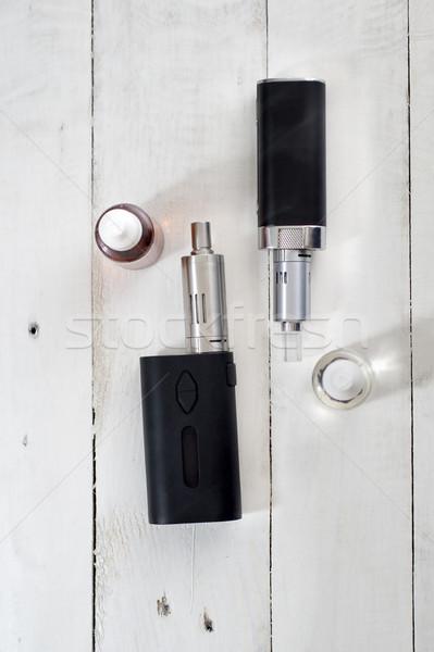 Zaawansowany osobowych medycznych polu czarny palenia Zdjęcia stock © nessokv
