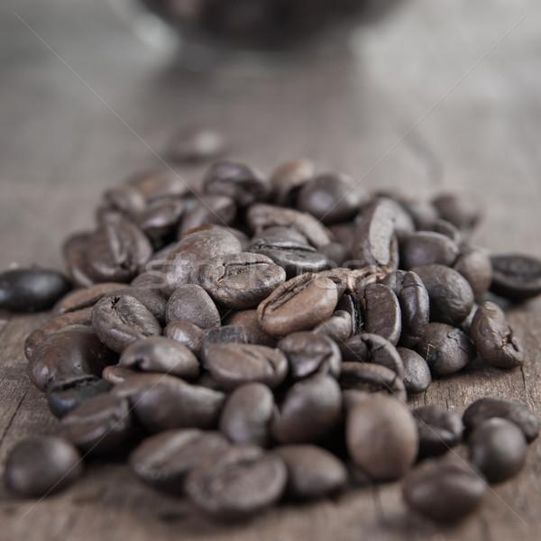 Coffee beans Stock photo © nessokv