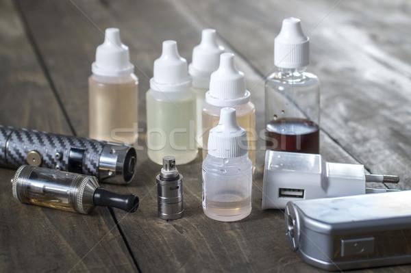 異なる ボトル ファッション たばこ 液体 ストックフォト © nessokv