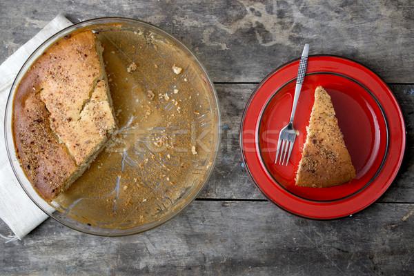Apple Pie - Freshly Baked Stock photo © nessokv