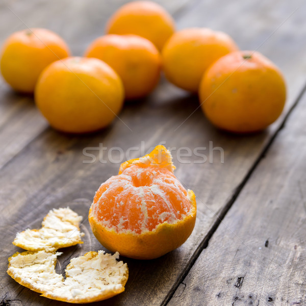 tangerines on the table Stock photo © nessokv