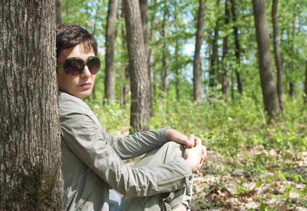 outdoor portrait Stock photo © nessokv