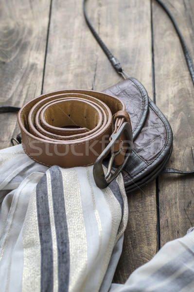 Spring or summer women's fashion accessories Stock photo © nessokv