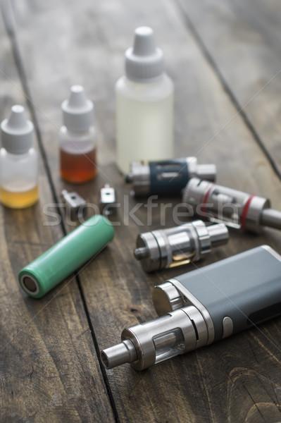 Zaawansowany urządzenie zdrowia muzyka elektryczne elektronicznej Zdjęcia stock © nessokv