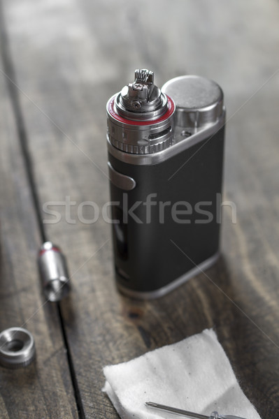 Electronic cigarette Atomizer Replacement Head  Stock photo © nessokv