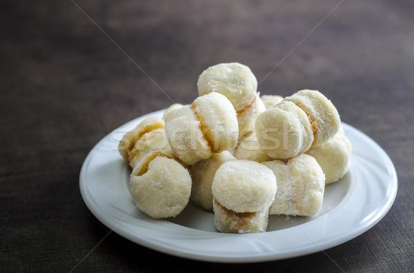 Piccolo vaniglia cookies migliore vacanze cookie Foto d'archivio © nessokv