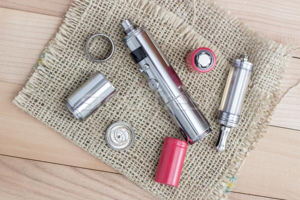 高度な 業界 鋼 喫煙 たばこ ストックフォト © nessokv