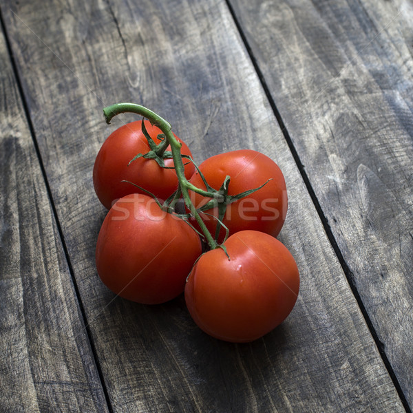 Freshly picked ripe red tomatoes  Stock photo © nessokv