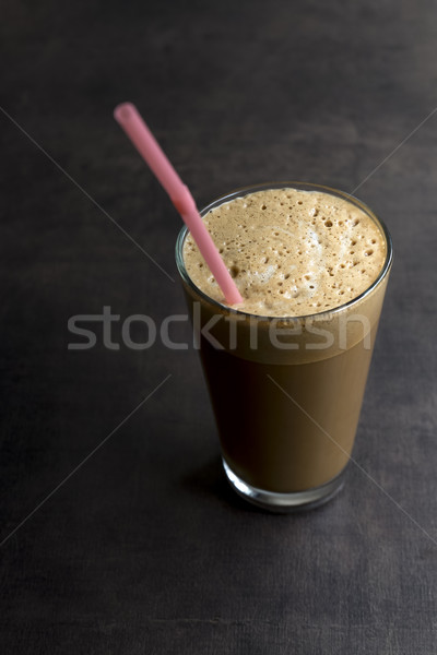 Refreshing cold frappe coffee Stock photo © nessokv