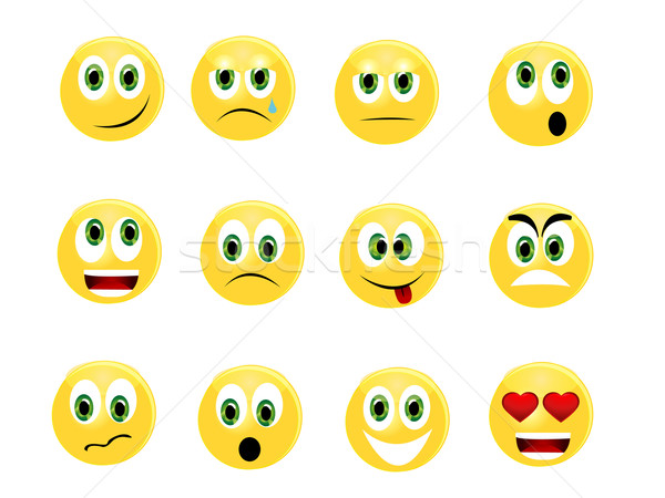 Emoticons Stock photo © Nevenaoff